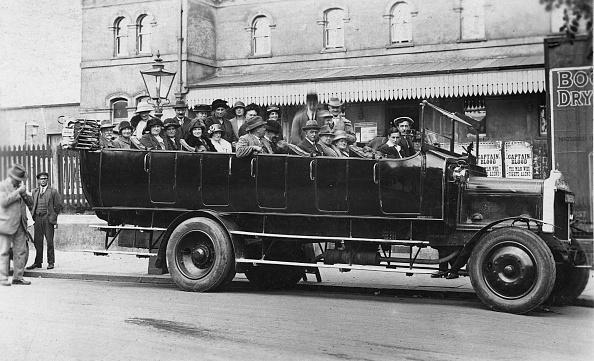 Recreational Pursuit「1922 Daimler Y Charabanc At Portslade. Creator: Unknown.」:写真・画像(6)[壁紙.com]