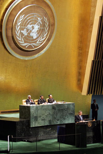 United Nations General Assembly「UN Observes 60th Anniversary Of The Liberation Of Nazi Concentration Camps」:写真・画像(11)[壁紙.com]