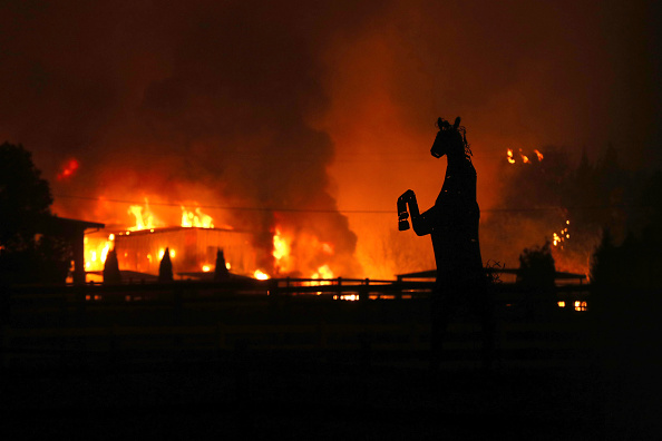 Getty Images「Evacuations Issued For Parts of Sonoma County As Kincade Fire Spreads」:写真・画像(19)[壁紙.com]