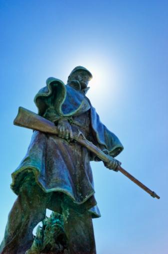 Battle「Statue of a soldier at Vicksburg National Military Park」:スマホ壁紙(2)