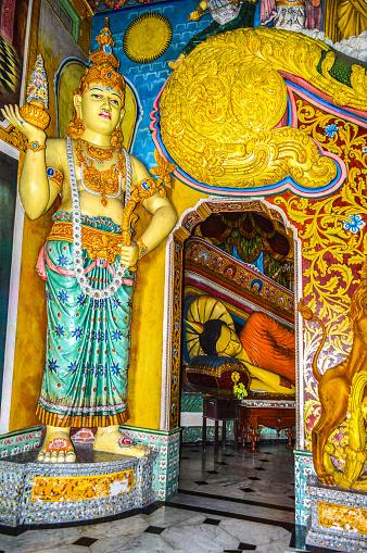 Sri Lanka「Statue of Asokaramaya Temple.」:スマホ壁紙(7)