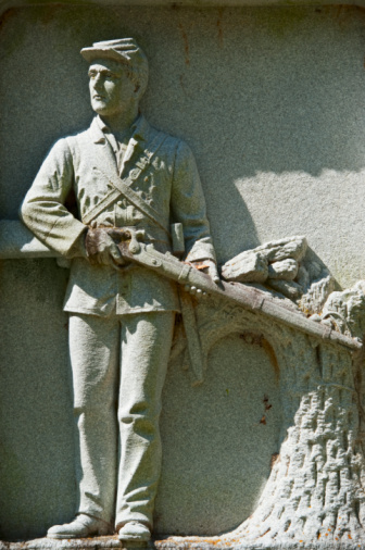Battle「Statue of a union soldier at Vicksburg National Military Park」:スマホ壁紙(4)
