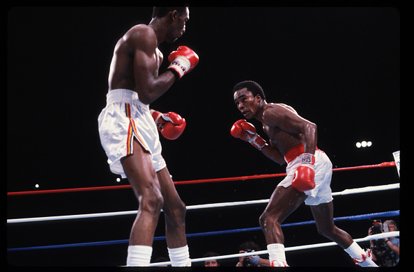WBC「Sugar Ray Leonard Fights Thomas Hearns」:写真・画像(4)[壁紙.com]