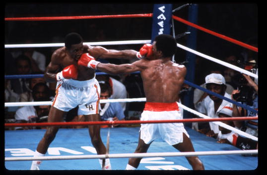 WBC「Sugar Ray Leonard Fights Thomas Hearns」:写真・画像(6)[壁紙.com]