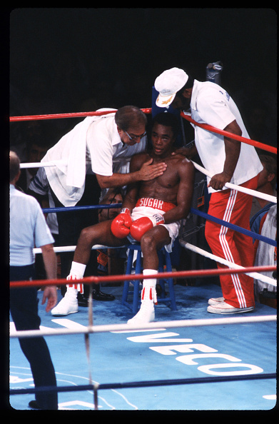 WBC「Sugar Ray Leonard Fights Thomas Hearns」:写真・画像(5)[壁紙.com]