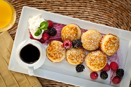 ジュース「Aebleskiver (Danish Pancake) for breakfast」:スマホ壁紙(2)