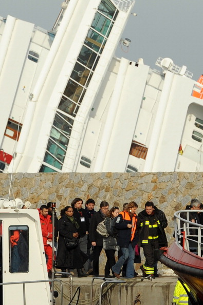 Transportation Event「Families And Friends Of Costa Concordia Victims Visit Island Of Giglio」:写真・画像(9)[壁紙.com]