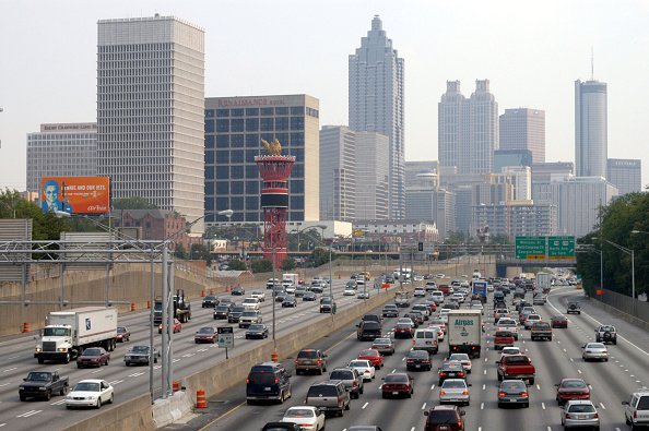 Financial District「Atlanta Losing Traffic Gridlock Battle, Study Reports」:写真・画像(3)[壁紙.com]