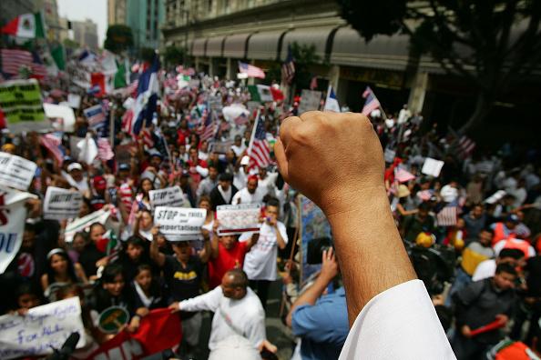 昼間「Immigrants Hold Marches Across U.S. On May Day」:写真・画像(15)[壁紙.com]
