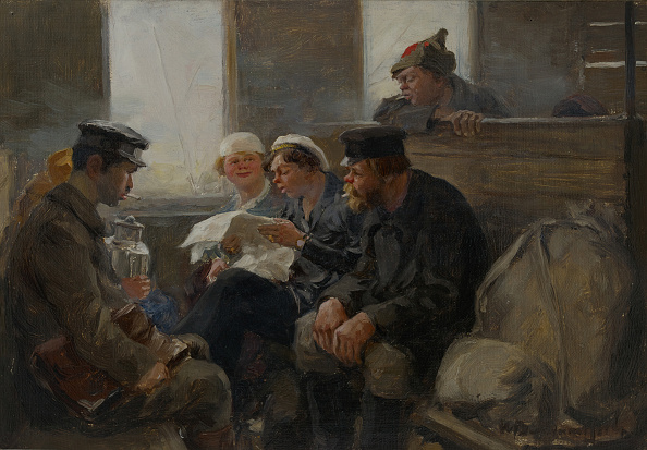 Realism「Group Of Bolsheviks On A Train」:写真・画像(14)[壁紙.com]