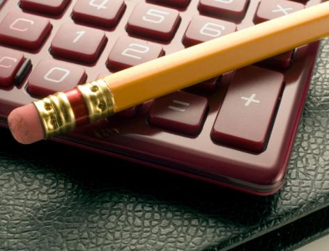 Accountancy「calculator, pencil, and record book」:スマホ壁紙(11)