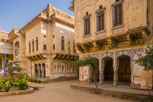 Rajasthan「Typical house (Haveli) in the town」:スマホ壁紙(17)