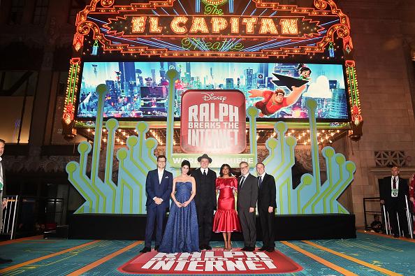 "El Capitan Theatre「""Ralph Breaks The Internet"" World Premiere」:写真・画像(8)[壁紙.com]"