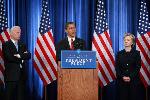 Secretary Of State「Obama Announces Appointments Of Clinton, Gates, Nat'l Security Team」:写真・画像(7)[壁紙.com]