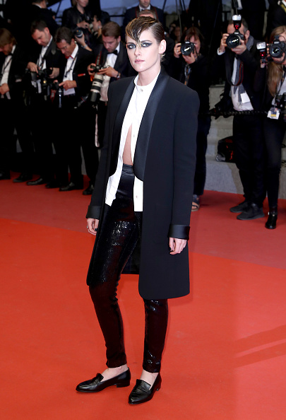 年次イベント「'Knife + Heart (Un Couteau Dans Le Couer)' Red Carpet Arrivals - The 71st Annual Cannes Film Festival」:写真・画像(14)[壁紙.com]