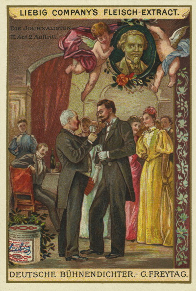 Chromolithograph「The Journalists by Gustav Freytag」:写真・画像(10)[壁紙.com]