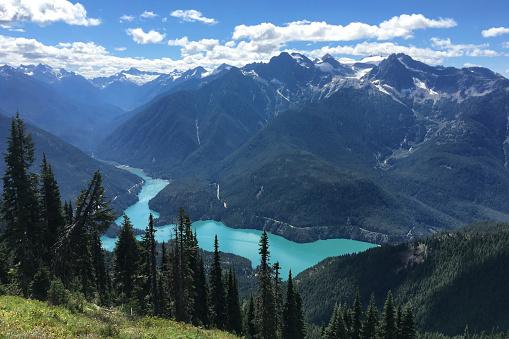 North Cascades National Park「Diablo Lake」:スマホ壁紙(17)