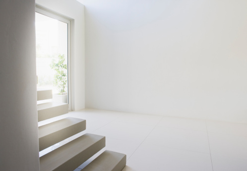 South Africa「Entrance and staircase of modern home」:スマホ壁紙(13)