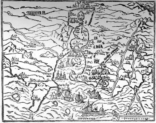 City Life「Tunis - 16th century map」:写真・画像(2)[壁紙.com]