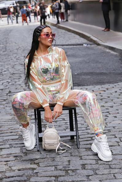Achim Aaron Harding「Street Style - New York Fashion Week September 2018 - Day 7」:写真・画像(3)[壁紙.com]