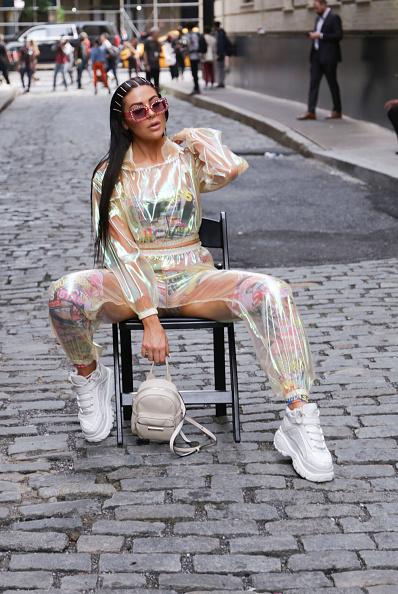 Achim Aaron Harding「Street Style - New York Fashion Week September 2018 - Day 7」:写真・画像(4)[壁紙.com]