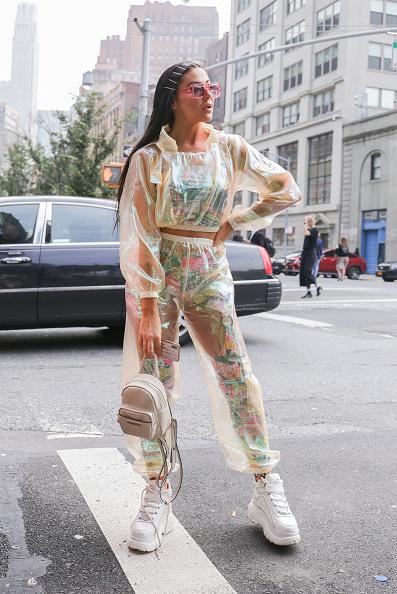 Achim Aaron Harding「Street Style - New York Fashion Week September 2018 - Day 7」:写真・画像(6)[壁紙.com]