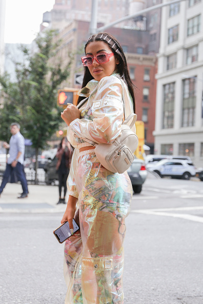 Achim Aaron Harding「Street Style - New York Fashion Week September 2018 - Day 7」:写真・画像(7)[壁紙.com]