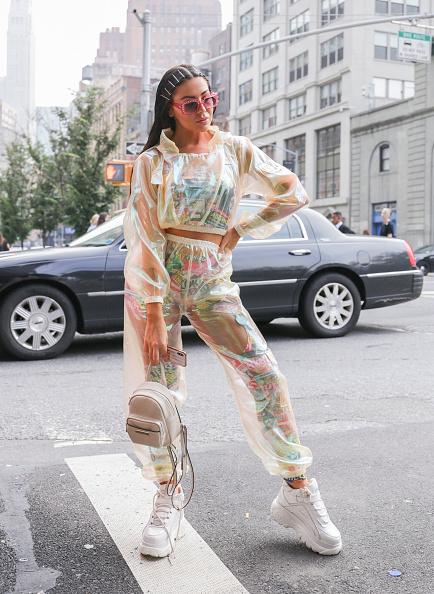 Achim Aaron Harding「Street Style - New York Fashion Week September 2018 - Day 7」:写真・画像(9)[壁紙.com]