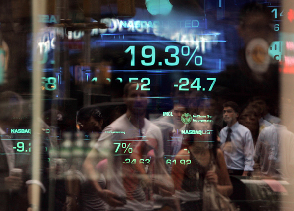 Dow Jones Industrial Average「Markets Plunge After House Rejects $700 Billion Financial Bailout Plan」:写真・画像(11)[壁紙.com]