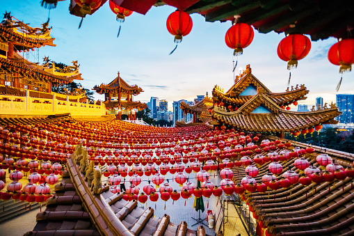 Chinese Lantern「Thean Hou Temple Kuala Lumpur」:スマホ壁紙(19)