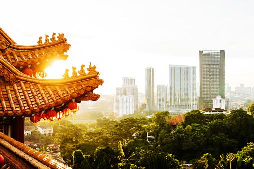 Chinese Lantern「Thean Hou Temple Kuala Lumpur」:スマホ壁紙(2)