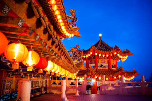 Chinese Lantern Festival「Thean Hou Temple in Kuala Lumpur, Malaysia」:スマホ壁紙(3)