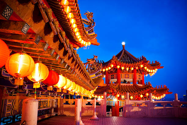 Thean Hou Temple in Kuala Lumpur, Malaysia:スマホ壁紙(壁紙.com)