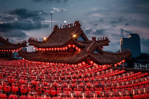 Thean Hou temple in Kuala Lumpur Malaysia:スマホ壁紙(壁紙.com)