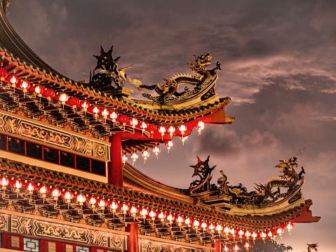 Chinese Lantern「Thean Hou temple in Kuala Lumpur Malaysia」:スマホ壁紙(17)