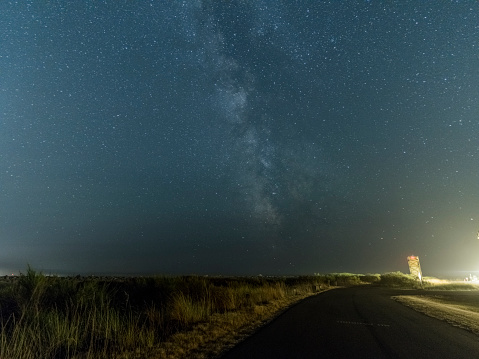 star sky「milky way を空白の場合 highway」:スマホ壁紙(9)