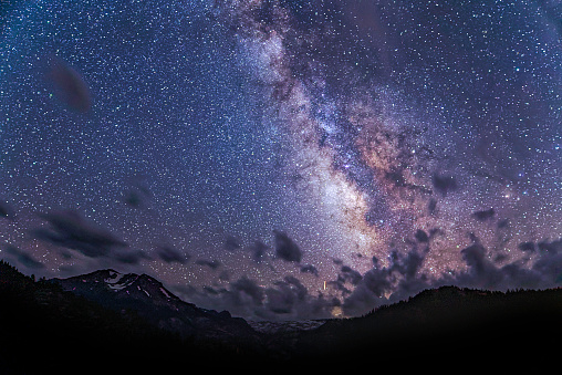 star sky「Milky Way Over Sonora Pass」:スマホ壁紙(1)