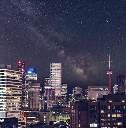 star sky「Milky Way をトロント」:スマホ壁紙(4)