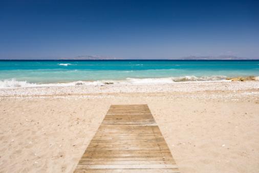 The Way Forward「Tholos Beach」:スマホ壁紙(12)