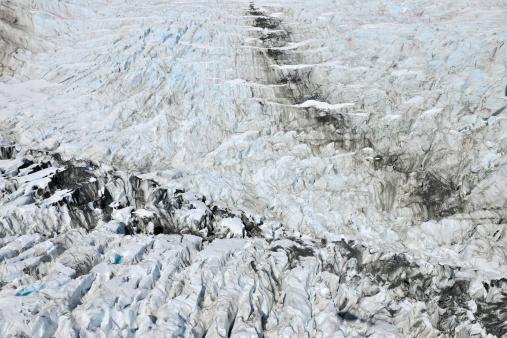 Westland - South Island New Zealand「Glacier Crevasse」:スマホ壁紙(5)