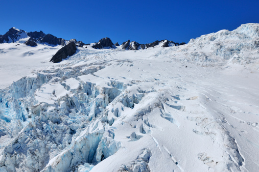 Westland - South Island New Zealand「Glacier Crevasse」:スマホ壁紙(1)