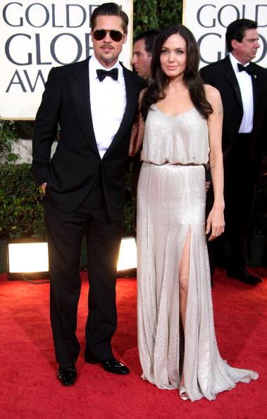Brangelina - Couple「The 66th Annual Golden Globe Awards - Arrivals」:写真・画像(14)[壁紙.com]
