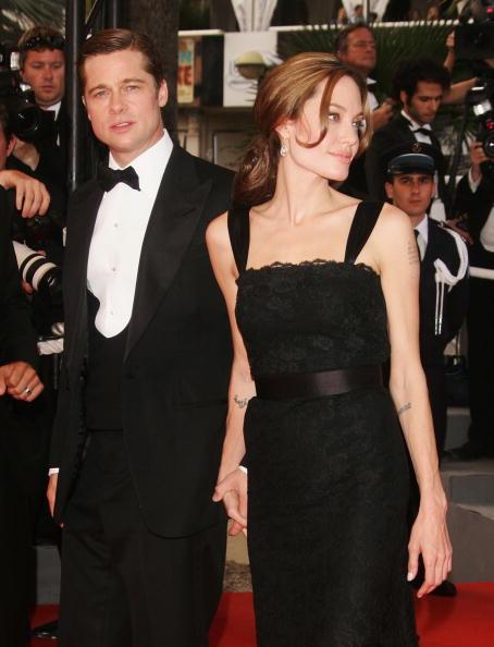 "Brangelina - Couple「Cannes - ""A Mighty Heart"" - Premiere」:写真・画像(12)[壁紙.com]"