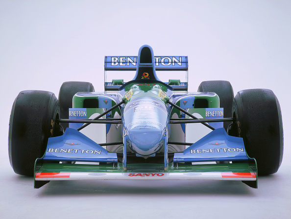 White Background「1993 Benetton B193B」:写真・画像(8)[壁紙.com]