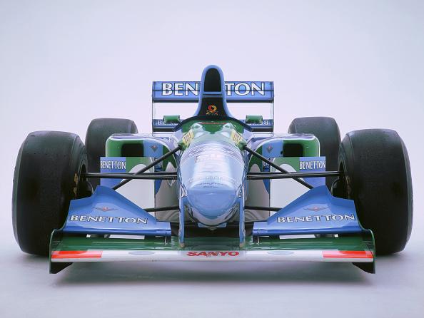 White Background「1993 Benetton B193B」:写真・画像(3)[壁紙.com]