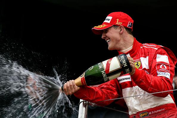 Formula One Racing「Michael Schumacher, Grand Prix Of Great Britain」:写真・画像(4)[壁紙.com]