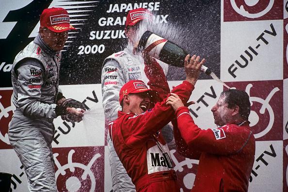 Suzuka「Michael Schumacher, Jean Todt, Mika Hakkinen, Grand Prix Of Japan」:写真・画像(1)[壁紙.com]