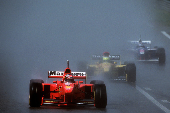 Spa「Michael Schumacher, Giancarlo Fisichella, Jacques Villeneuve, Grand Prix Of Belgium」:写真・画像(8)[壁紙.com]