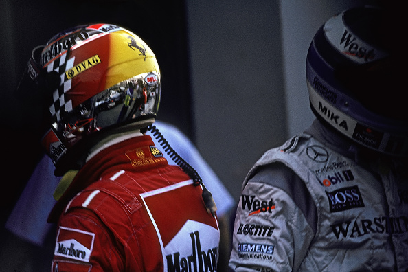 ミカ ハッキネン「Michael Schumacher, Mika Häkkinen, Grand Prix Of Japan」:写真・画像(4)[壁紙.com]