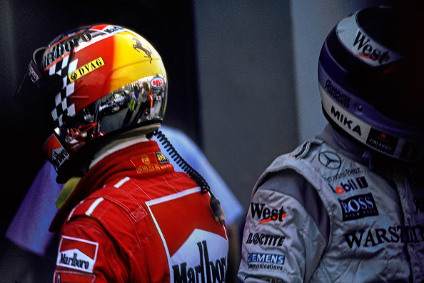 Japanese Formula One Grand Prix「Michael Schumacher, Mika Hakkinen, Grand Prix Of Japan」:写真・画像(14)[壁紙.com]